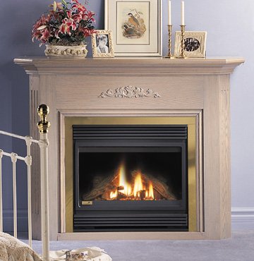 Do I have a gas fireplace or just a gas starter? - Fireplaces