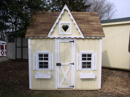 Playhouse Doors Built This Playhouse And Swing Set For